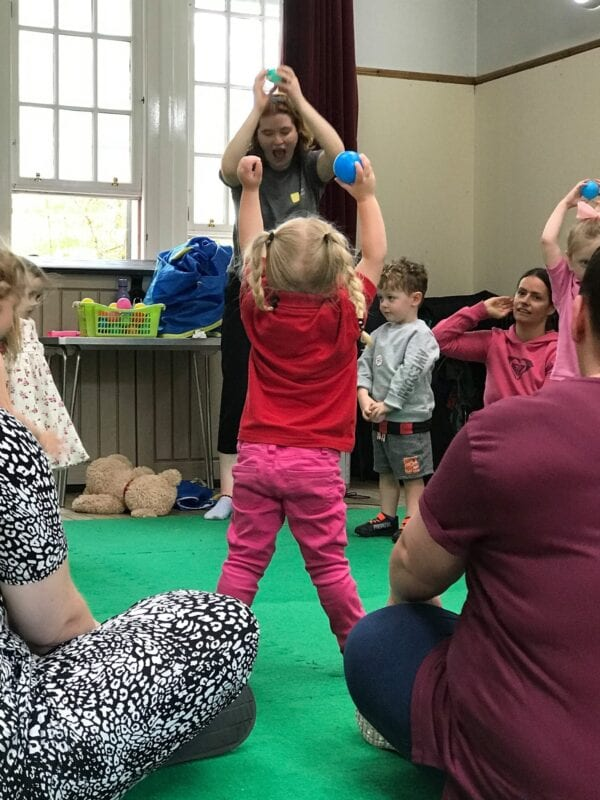 Toddler movement and dance class in Paisley